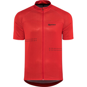 Gonso Mocco Maillot de cyclisme Homme, barbados cherry
